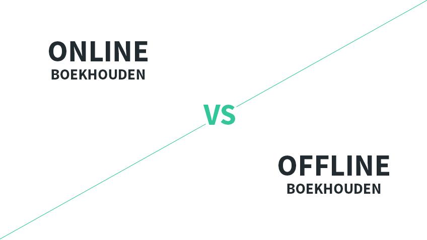 online vs offline boekhouden